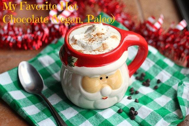 My Favorite Hot Chocolate (Vegan, Paleo)