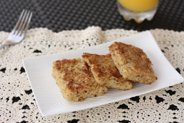 French toast made from oatmeal!