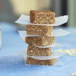 Chewy No-Bake Almond Butter Bars