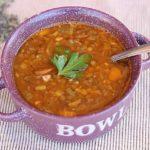 Perfect Lentil Soup (Vegan, Gluten-Free)