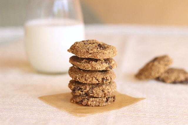 Fat-Free Chewy Oatmeal Raisin Cookies | Oatmeal with a Fork