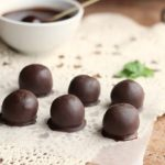 Raw Mint Chocolate Bon-Bons