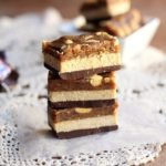Healthy Fun Size Snickers Bars (Vegan, Grain-Free)