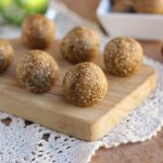 No-Bake Cinnamon Oatmeal Truffles (NO Added Sugar or Oil)