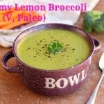 Creamy Lemon Broccoli Soup