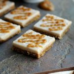 Raw Cinnamon Roll Bars with Tahini Date 'Caramel' Drizzle (Vegan, Paleo)