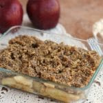 Raw Cinnamon Apple Crumble (Vegan, Gluten-Free)–Video