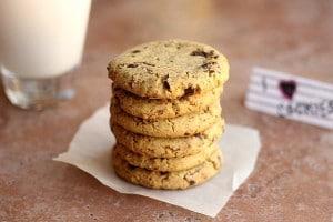 Incredible Chickpea Flour Chocolate Chip Cookies (Grain-Free, Vegan) 7