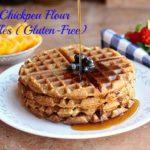 Easy Chickpea Flour Waffles (Gluten-Free)