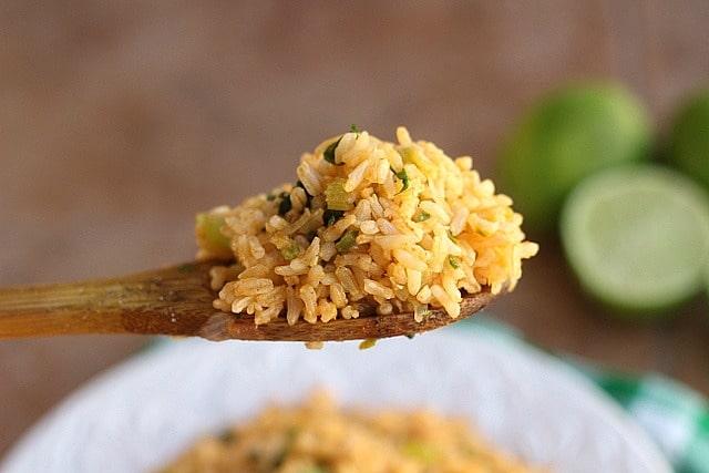 Lighter Spanish Brown Rice (Vegan, GF) 2