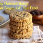 Healthy Oatmeal Raisin Cookies (Vegan, GF, Nut-Free)