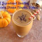 Secret Ingredient Healthy Chocolate Shake (Vegan, Paleo)