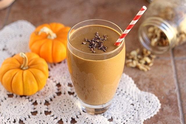Secret Ingredient Healthy Chocolate Shake (Vegan, Paleo) 2