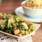 Sesame Chicken and Broccoli Stir-Fry (GF, Nut-Free)