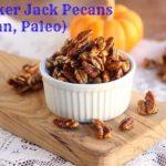 Last Minute Cracker Jack Pecans (Vegan, Paleo)