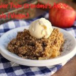 Healthier Than Grandma's Apple Crumble (Vegan, Nut-Free)