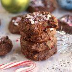Fudgy Flourless Chocolate Mint Cookies (Paleo)