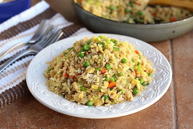Better Than Take-Out Fried Rice (Vegetarian, Gluten-Free) 5