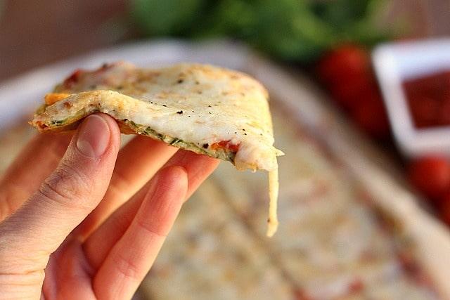 Nut-Free and Gluten-Free Zucchini Pizza Crust 5