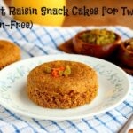 Carrot Raisin Snack Cakes for Two (Gluten-Free)
