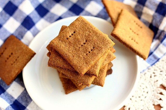 Gluten-Free Buckwheat Graham Crackers (Vegan) 2