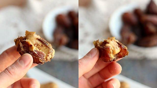 Frozen Cinnamon Date Treats (Vegan, Paleo) 2