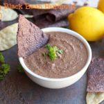 Smoky Black Bean Hummus (Vegan)