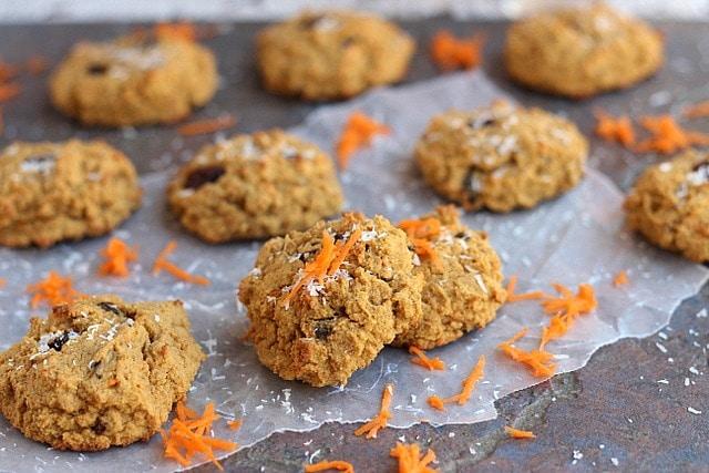 Paleo Carrot Cake Cookies 2