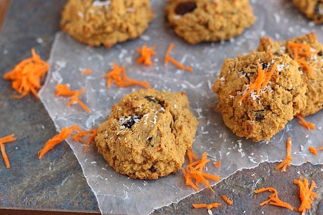 Paleo Carrot Cake Cookies 3