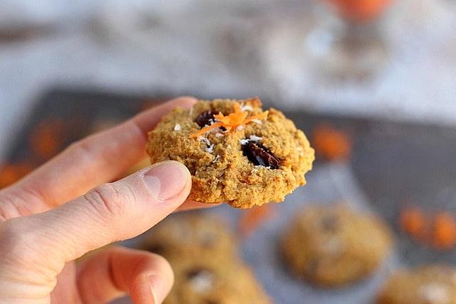 Paleo Carrot Cake Cookies 6