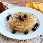 Blueberry Oat Bran Pancakes for One–Video