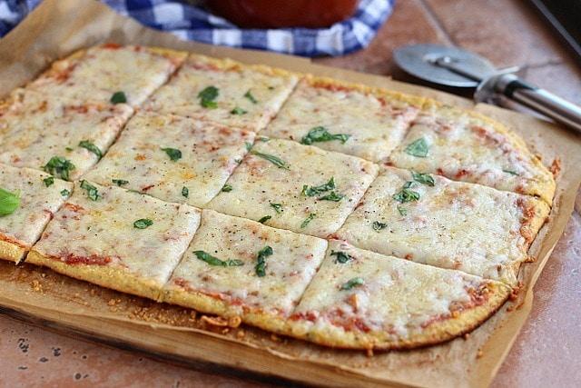Coconut Flour Pizza Crust (Grain-Free) 2