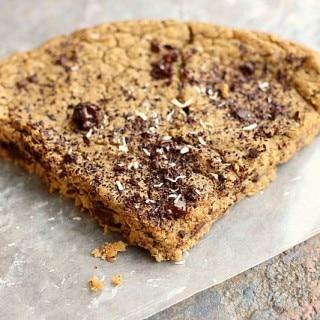 Chocolate Chip Cookie Slice (Sugar-Free, Grain-Free, Nut-Free) 2