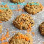Health Nut Carrot Raisin Cookies (Sweetener-Free)