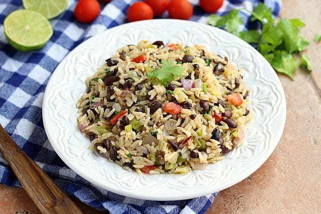 Meatless Monday Rice and Beans (Vegan) 3