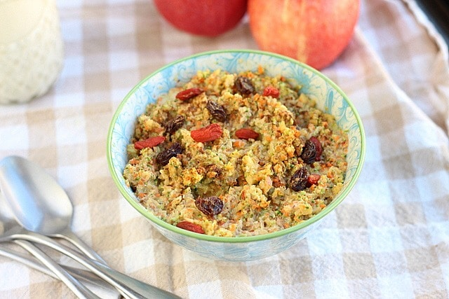 Fruit and Veggie Cold Cereal (Grain-Free) 3