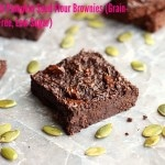 Small Batch Pumpkin Seed Flour Brownies (Grain-Free, Nut-Free, Low Sugar)