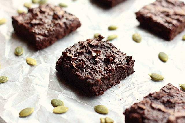Small Batch Pumpkin Seed Flour Brownies (Grain-Free, Nut-Free, Low Sugar) 4