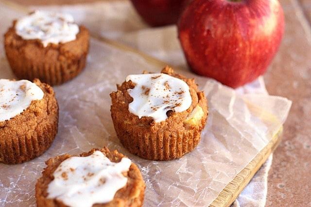 Apple Pie-Spiced Muffins (No Added Sugar, Grain-Free) 2