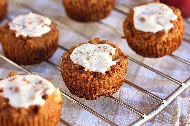 Apple Pie-Spiced Muffins (No Added Sugar, Grain-Free) 3