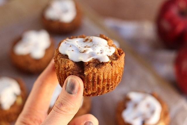Apple Pie-Spiced Muffins (No Added Sugar, Grain-Free) 5