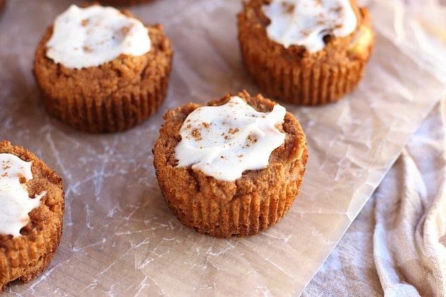 Apple Pie-Spiced Muffins (No Added Sugar, Grain-Free) 6