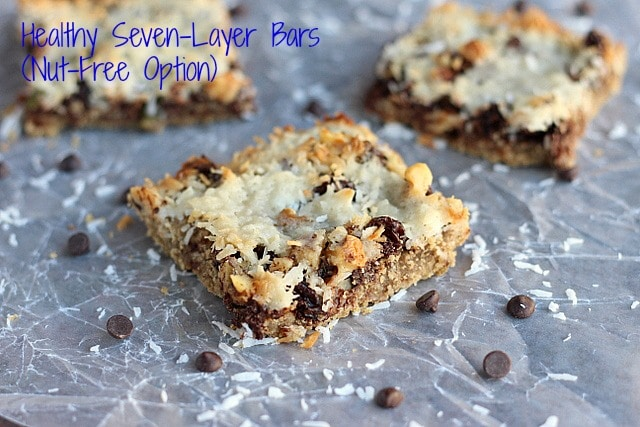 Healthy Seven-Layer Bars (Nut-Free Option)