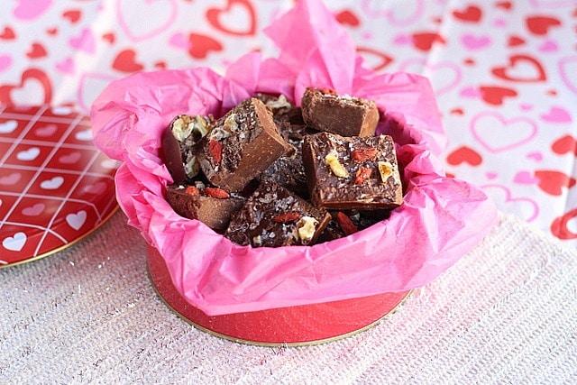 Coconut Oil Chocolate Fudge 5