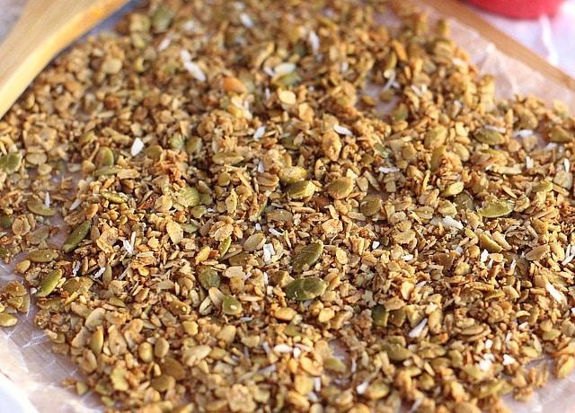 Sugar-Free Cinnamon Coconut Granola 6