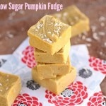 Creamy, Low Sugar Pumpkin Fudge