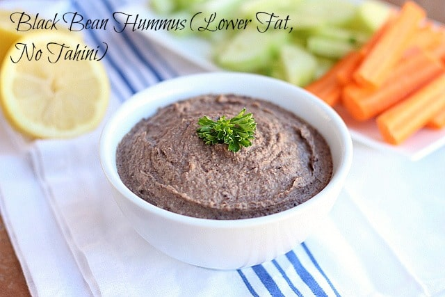 Jadie's Favorite Hummus Recipe (Lower Fat, No Tahini)