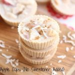 Coconut Apple Cups (No Sweetener Added)