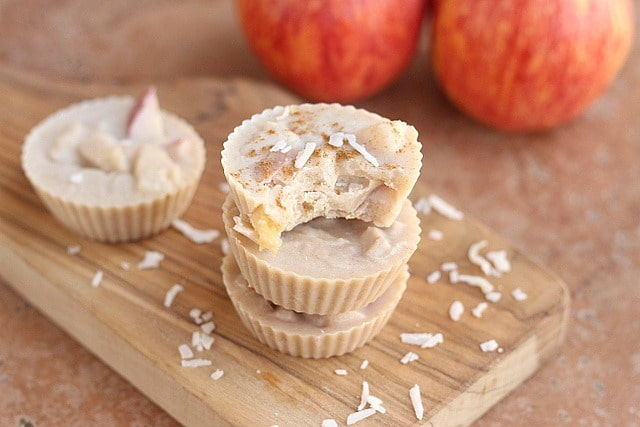 Coconut Apple Cups (No Sweetener Added) 5