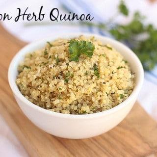 Lemon Herb Quinoa